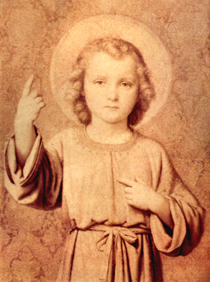 to the child jesus St thérèse of the child jesus was throughout her life particularly devoted to the  infant jesus just as her great spiritual mother, teresa of avila, had been.